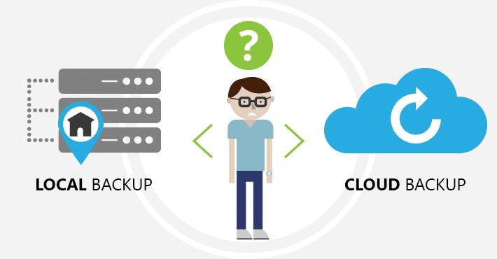Cloud vs Local Backup